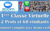 01 Tutoriel ZOOM : Comment utiliser Zoom - Vidéoconférence réunion classe virtuelles partage gratuit