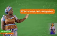 3ème- MATHÉMATIQUE-Leçon 9 : Coordonnées d'un vecteur 3ème partie
