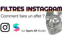 Débutant sur Spark AR Studio - Tutoriel en Français : Comment faire un Filtre Instagram ?