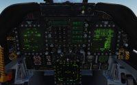 DCS tutoriel F/A-18C : Taxi, takeoff, navigaton