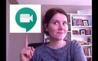 Enregistrer une leçon avec Google Meet- tutoriel en français pour les enseignants