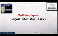 Etablissement arrissala attarbaouia 2020:3ème AC .Mathématiques  leçon/Statistiques 2 Prof :Rafika