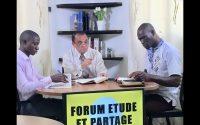 Forum Etude et Partage autour de la leçon de l'école du Sabbat du 29 Mai 2020