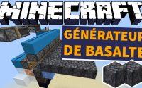 Générateur de Basalte Automatique Simple et Efficace - Minecraft 1.16 Tutoriel Redstone FR