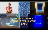 How to Make a Bubble Wall - Tutoriel / Comment faire un Mur de Bulles ...كيف تصنع جدار الفقاعات