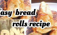 How to make bread rolls/tutoriel de petits pains/ easy snack tutorial with bread