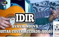 Idir: a vava inouva guitar cover,leçon de guitare (accords+solos).