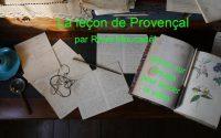 La leçon de Provençal n°15