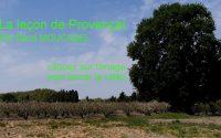 La leçon de Provençal n°18
