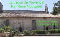 La leçon de Provençal n°22
