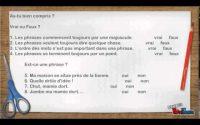 Leçon grammaire : La Phrase - CE2