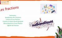 Leçon mathématique les fractions 6ème.