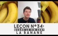 Leçon n°34 : Quand le vin sent … la BANANE