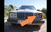 Mercedes W124 - Tutoriel Changez le phare