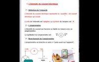 Pour les 4èmes, leçon N°2 d'électricite