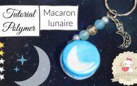 TUTORIEL POLYMÈRE - Macaron lunaire | Elycla in Wonderland