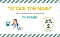 TUTORIEL VIDEO DU MASQUE FAIT MAISON ATTACK TON MASK