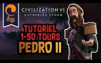 Tutoriel Civilization VI Divinité 1-50 Tours