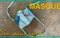 Tutoriel Couture - Coudre un masque sans couture sagittale Attack ton Mask | Cecile DIY
