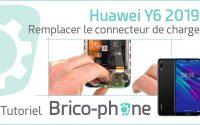 Tutoriel Huawei Y6 2019 : changer le connecteur de charge