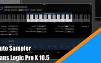 Tutoriel Logic Pro X 10.5 (Français): découvrir Auto Sampler