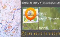 Tutoriel Osmand : Comment préparer la création une trace GPX