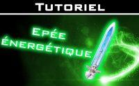 Tutoriel Peinture : Épée énergétique