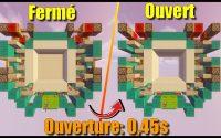[Tutoriel] Porte 4x4 (Ouverture: 0,45s) (0-tick)   allcraft0r