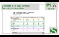 Tutoriel SAGA 1.7a - Les Contrats de Financement : description de cas pratique