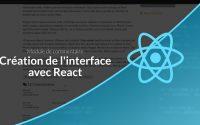 Tutoriel Symfony/React : Module de commentaires : React