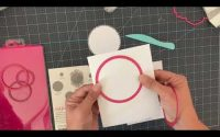 Tutoriel cartes heartfelt creations dies decorative circle frames