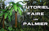 Tutoriel comment faire un palmier miniature.