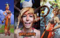 Tutoriel make up Cosplay : Blossom de Battlerite