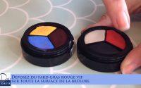 Tutoriel make-up fx brûlure simple