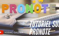 Tutoriel sur les QCM Pronote