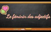 #leçon #Français #Leféminindesadjectifs #adjectifs Le féminin des adjectifs (Leçon)