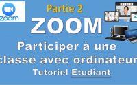 03 Tutoriel ZOOM  Comment utiliser Zoom   Vidéoconférence réunion classe virtuelles partage gratuit