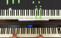 """Renesmee's Lullaby du film """"Twilight"""" - comment jouer au piano, Synthesia, piano tutoriel"""