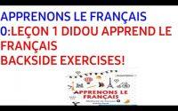 APPRENONS LE FRANÇAIS 0:LEÇON 1 EXERCISES SOLVED!