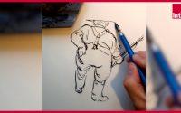 """Alex W. Inker : Comment dessiner """"Un travail comme un autre"""" ? La leçon de dessin confinée"""