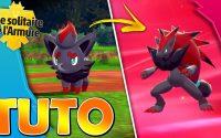 Comment obtenir Zorua et ZOROARK !✨Tutoriel Pokémon Épée et Bouclier (Isolarmure)