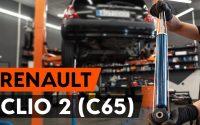 Comment remplacer un amortisseur arrière sur RENAULT CLIO 2 (C65) [TUTORIEL AUTODOC]