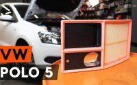 Comment remplacer un filtre à air sur VW POLO 5 Berline [TUTORIEL AUTODOC]