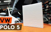 Comment remplacer un filtre d'habitacle sur VW POLO 5 Berline [TUTORIEL AUTODOC]