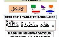 Cours Arabe en français leçon 14