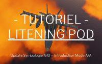 DCS World // F/A 18C Tutoriel - Update du Litening Pod