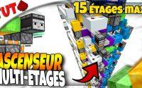 Faire un ASCENSEUR 3x3 Multi-Étages avec SÉLECTEUR Compact ! (Tutoriel) [Minecraft Java 1.15+]