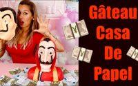 GÂTEAU LA CASA DE PAPEL TUTORIEL CAKE DESIGN