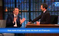 Gad Elmaleh donne une leçon de Français à la télévision américaine