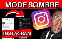 Instagram en MODE SOMBRE ! ( Tutoriel )